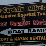 Capt Mike's Swimming with the Manatees