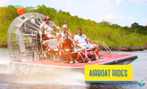 Activities and Attractions: Airboat Rides