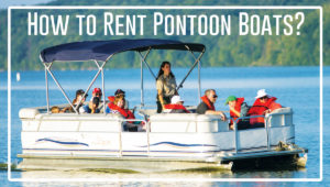 How To Rent Pontoon Boats Captain Mike S Swimming With